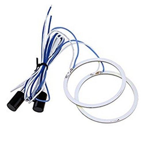 Chytaii Auto Angel Eyes Auto LED Standlicht Ringe Fahrzeug Scheinwerferlampe Nebelscheinwerfer Licht Ringe für Auto Motorrad 9W 70MM