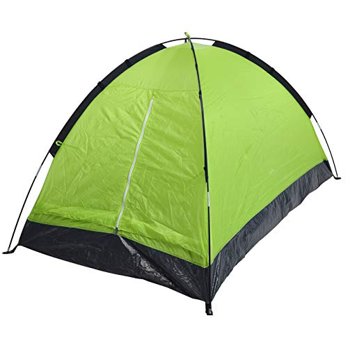 JEMIDI Festival Zelt für 2 Personen Kuppelzelt Campingzelt Zelt kleines 2 Mann Grün