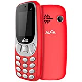 [Sponsored Products]Aqua J3 - 1.8 Inch Display Dual SIM Basic Keypad Mobile Phone With 800 MAh Battery - Red