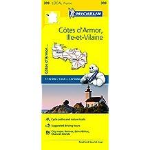 Michelin FRANCE: C???tes d'Armor, Ille-et-Vilaine Map 309 (Maps/Local (Michelin)) by Michelin Travel & Lifestyle (2016-04-07)