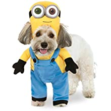 Official Rubie's Minion Bob Walking Pet Dog Costume, Size X-Small