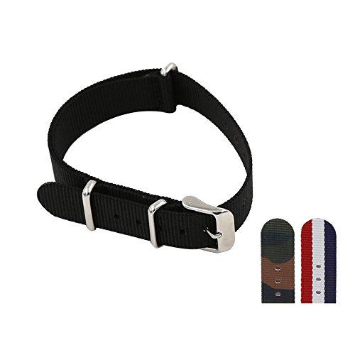 nylon-uhrenarmband-fashion-fabric-ringe-edelstahl-gurtelschnalle-schwarz-20mm-fur-herren-damen-unise