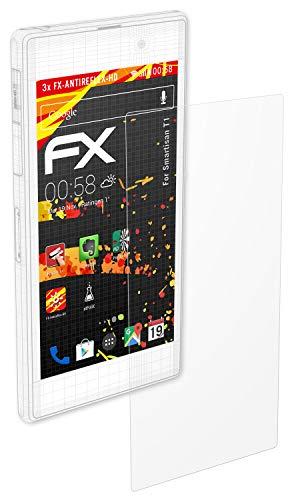 atFolix Schutzfolie kompatibel mit Smartisan T1 Displayschutzfolie, HD-Entspiegelung FX Folie (3X)