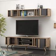 طاولة خشب للتلفزيون، مقاس 48 × 35