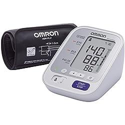 OMRON M3 Comfort - Tensiómetro de brazo, tecnología Intelli Wrap Cuff lo que permite obtener resultados precisos en cualquier posición alrededor del brazo
