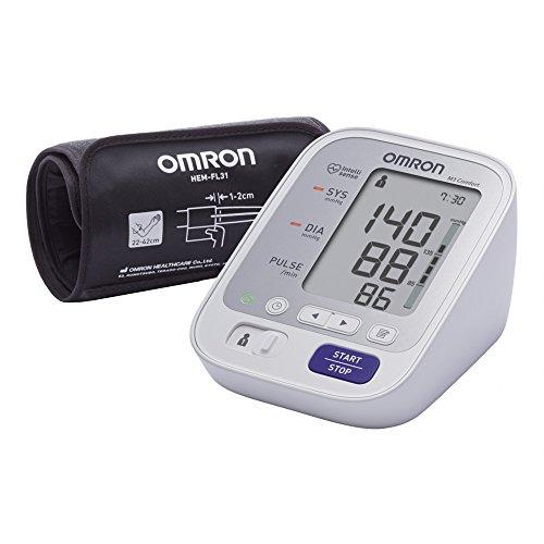 OMRON M3 Comfort Misuratore di Pressione da Braccio Digitale con Tecnologia Intelli Wrap Cuff per una Misurazione Precisa in Qualsiasi Punto del Braccio