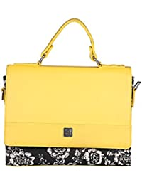Be For Bag Indigo Chic Women's Sling Bag (Yellow)