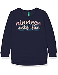 Benetton 3buyc, Sweat-Shirt Fille