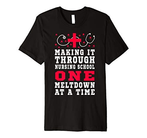 (Macht Es durch Pflege Schule Student Nurse Geschenk T-Shirt)