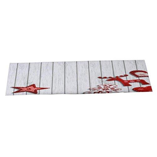 Preisvergleich Produktbild SYY 40 x 120 cm Weihnachten Teppiche Willkommen Fußmatten Indoor Home Carpets Decor (A)