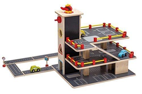 Jouéco Garage avec Accessoire, 80041, 20 Pièces