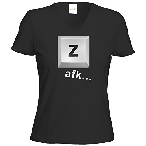 getshirts - BEAM Merchandise - T-Shirt Damen V-Neck - Taste Z Schwarz