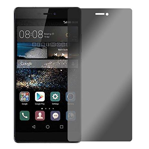 Slabo Blickschutzfolie Huawei P8 Max Sichtschutz Bildschirmschutzfolie View Protection|Sichtschutz Privacy Made IN Germany - Schwarz