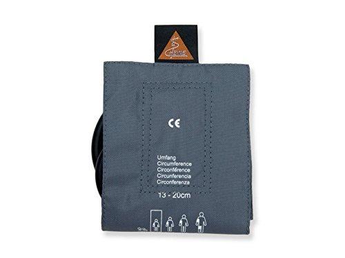 Heine 49801Manschette, 1Tube, Kind, 10cm Breite, 34cm Länge - Aneroid Blutdruckmessgerät Manschette Kind