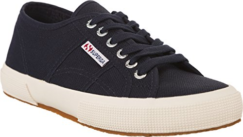 Schuhe Superga Sneakers Herren Damen Unisex 2750-plus Cotu Frühling Sommer Herbst Winter Navy
