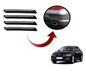 Auto Hub Car Bumper Guard/Protector For BMW 520d - Black