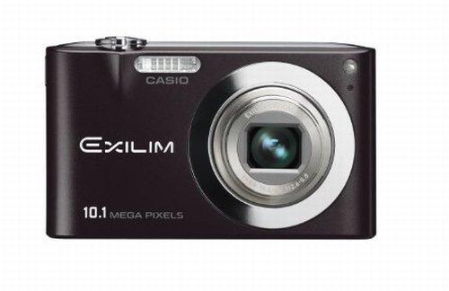 Casio EXILIM EX-Z100 BK Digitalkamera (10 Megapixel, 4-fach opt. Zoom, 2,7