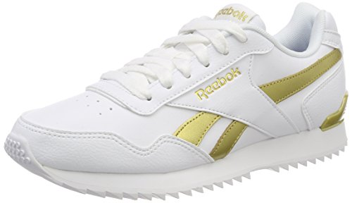 Reebok Royal Glide RPLCLP, Scarpe da Trail Running Donna, Bianco White/Gold Met 000, 39 EU