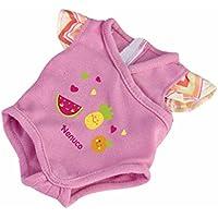 Nenuco Body con Dibujo de Frutitas, Color Rosa (Famosa 700013433)