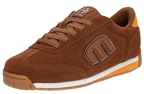 #Etnies Lo Cut 2 LS Brown Orange Mens Suede Skate Trainers Shoes Boots