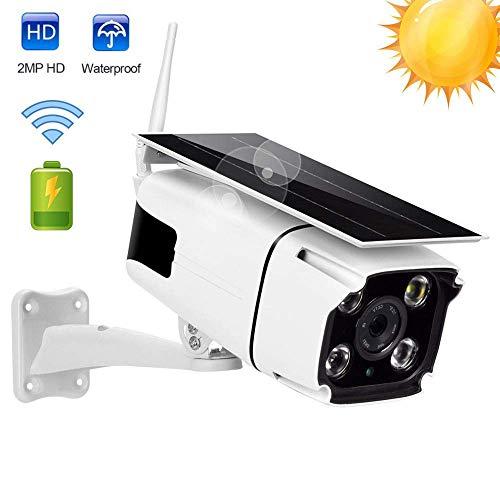 Solarpanel Power Kamera 2 Millionen Pixel HD1080P Wireless IR-Cut Nachtsicht GSM IP WiFi Kamera Unterstützung Multi-Plattform-Anzeige, Verwendet Für Home Safety Monitoring -