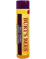 Burt's Bees 100% Natürlicher Lippenbalsam, Wild Cherry, 1er Pack (1 x 4,25 g)