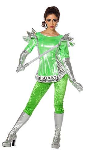 Space Alien Girl Kostüm - Karneval-Klamotten Space Kostüm Damen Weltraum Space