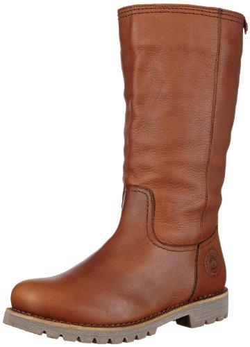 Panama Jack Bambina Igloo  Damen Warm gefüttert Schlupfstiefel Langschaft Stiefel & Stiefeletten, Braun (Bark), 38 EU (Slouch-stiefeletten)