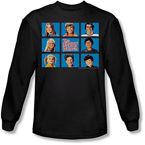 Brady Bunch - Herren Langarm-Shirt Framed In Black Black