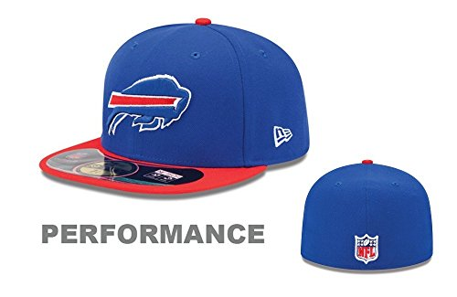 New Era NFL Herren Cap Buffalo Bills On Field 5950, Königsblau, Unisex, 10529777, königsblau, 6 7/8 -