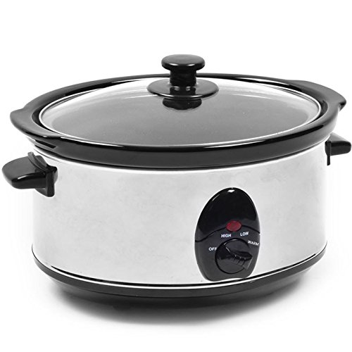 3.5L SLOW COOKER STAINLESS STEEL...