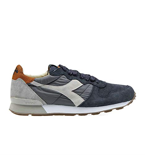 Diadora Heritage Men s 201173895C3125 Blue Leather Sneakers bb83a115381