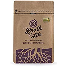 Lamb Bone Broth Dehydrated Certified Organic - 100 pure rich in gelatines, loaded with minerals