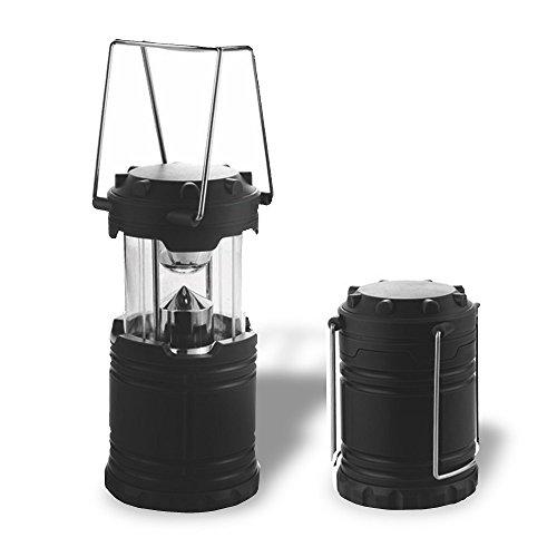 Xtreme Bright LED Campinglaterne - Eine ultrahelle Taschenlampe im voll zusammenklappbaren Design, 7 LED-Lampen, 360 Grad starke Beleuchtung, federleicht, robuste Konstruktion (Leichteste Zelt)