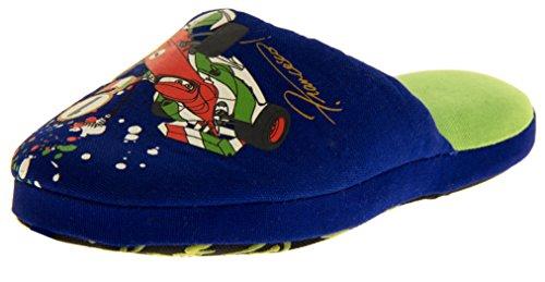 Footwear Studio , Chaussons pour fille Bleu - Azul - Lightning McQueen