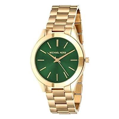 Michael Kors Reloj Analógico para Mujer de Cuarzo con Correa en Acero Inoxidable MK3435