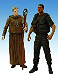 Stargate SG-1 Season 10 Daniel and Tealc Action Figure, Two-Pack by Diamond Select