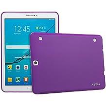 Gama de fundas de gel para tabletas Samsung Tab S y Tab S2 de Juppa® morado morado Sam Galaxy Tab S2 9.7