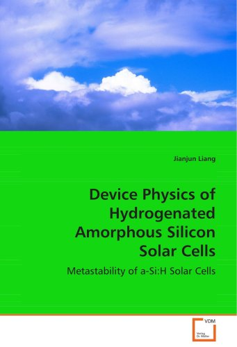 Device Physics of Hydrogenated Amorphous SiliconSolar Cells: Metastability of a-Si:H Solar Cells