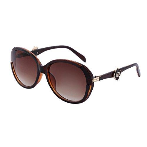 M:UK Soho en cristal Rose, les lunettes de soleil ronde BCBG MUK147836