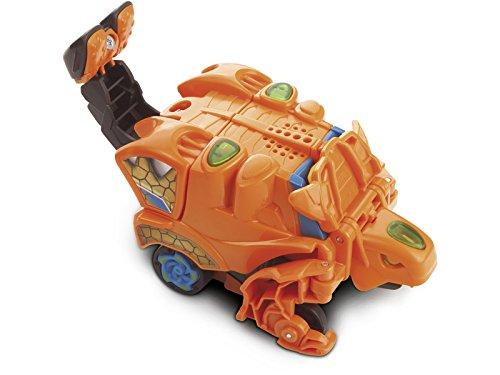 VTech- Dino vehículo Retro-fricciÓn 2 en 1, 19.1...