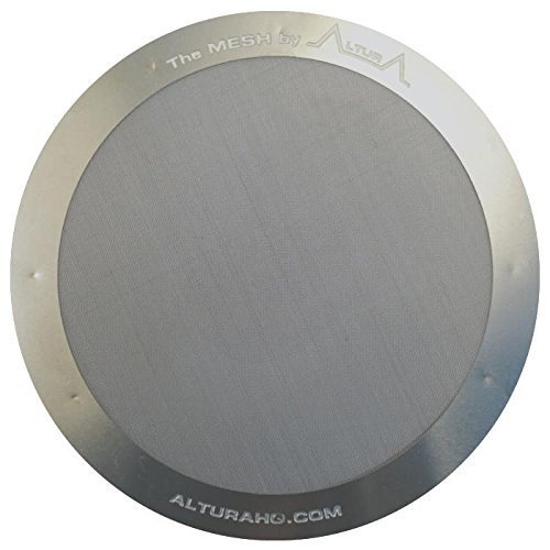 Die MESH: Metall filter für die AeroPress Kaffeemaschinen. 100% Gauranty Lebensdauer