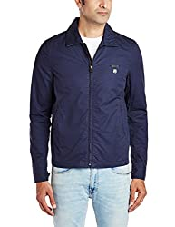 Lee Mens Cotton Jacket (8907222307349_LEJK1160_X-Large_Navy)