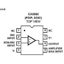 diypedalgearparts® 2 x ca3080ez ca3080 circuito integrado