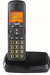 Gigaset A500 Black cordless landline phone with caller id & speakerphone