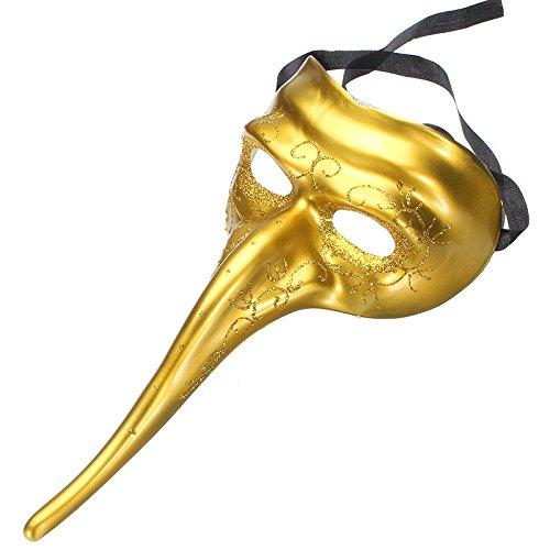 Komisch Halloween Kostüme Lange Nase Masken Maskerade Party DIY Zeichnung von ()