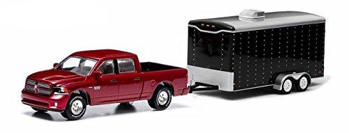dodge-ram-1500-deportes-rojo-oscuro-met-y-cerrado-2-ejes-remolque-2014-modelo-de-auto-modello-comple