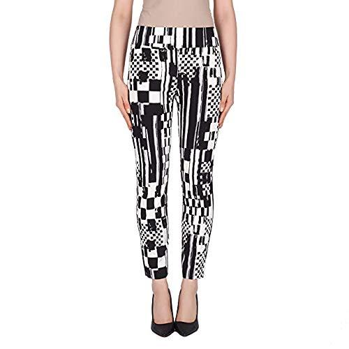 Joseph Ribkoff Black & White Pants Style - 191666 Spring Summer 2019