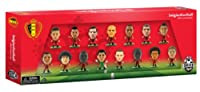 The Official Belgium International 15 Figure Team Pack includes leading stars from the 2014 World Cup Team such as Hazard and Kompany;The 2 inch smash-hit football collectable from Creative Toys Company features over 500 figures to collect in the ent...