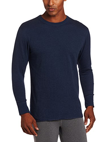 Duofold Men's Mid Weight Double Layer Thermal Shirt, Blue Jean, XX-Large (Jeans Blue Duofold)